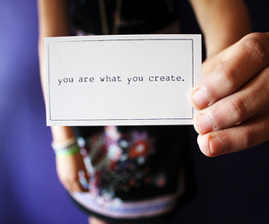 create, quote, and text image