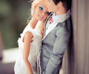 barbie, ken, and wedding image