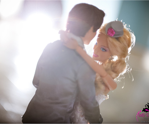 barbie, wedding, and ken image