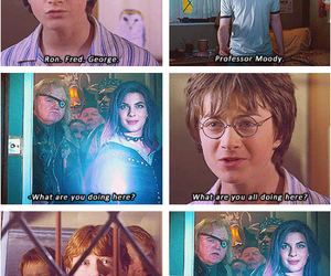 harry potter, ron weasley, and tonks image