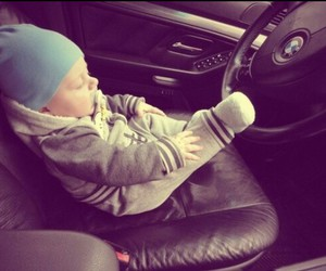 baby, bmw, and cute image