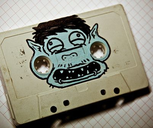 tape, monster, and Plugs image