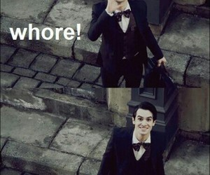 panic! at the disco, brendon urie, and whore image