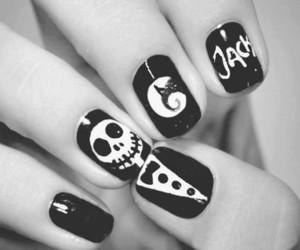 nails, jack, and black image