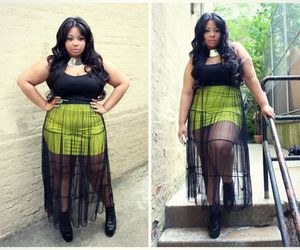 curvy, plus size, and fashion image