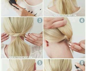 blonde, tutorial, and diy image