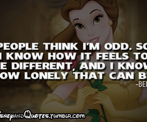 disney, belle, and quote image