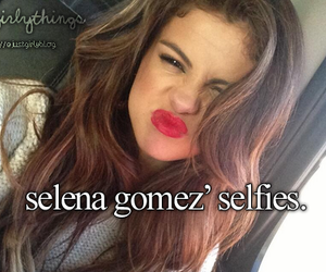 selena gomez, just girly things, and justgirlythings image