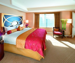 luxury, room, and pink image