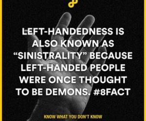 demon, fact, and writing image
