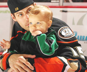 cute and hockey baby image