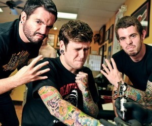 a day to remember, adtr, and tattoo image