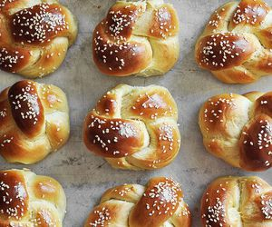 baking, bread, and eat image