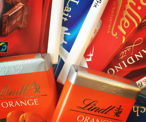 chocolate, orange, and sweets image