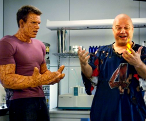 chris evans, Fantastic Four, and michael chiklis image
