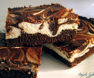 brownies, cheesecake, and dessert image