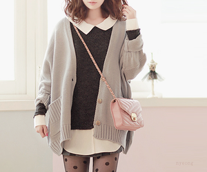 kfashion, cute, and korean fashion image