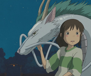 spirited away and dragon image
