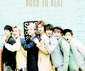 kpop, btob, and born to beat image