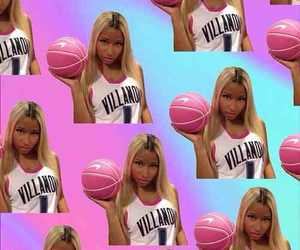 Basketball, pink, and backgrounds image