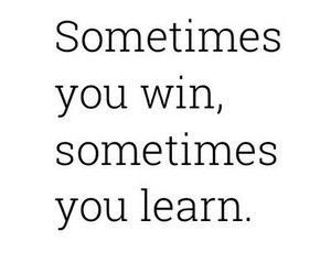 win, learn, and sometimes image