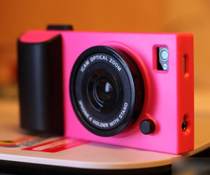 camera, pink, and iphone image