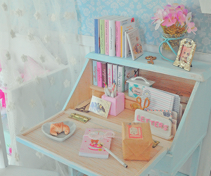 room, pastel, and bedroom image