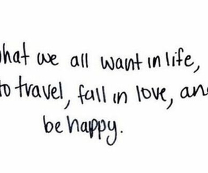 love, quote, and travel image