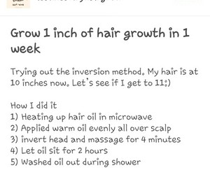 growth and hair image