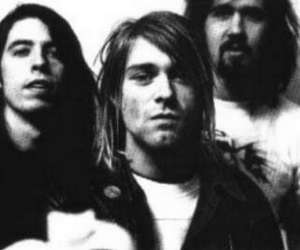 black and white and nirvana image