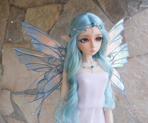bjd, fairy, and wings image