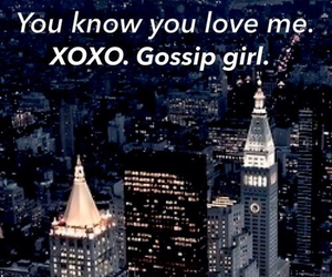 gossip girl, xoxo, and city image