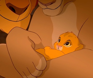 lion king, baby simba, and lion king pride image