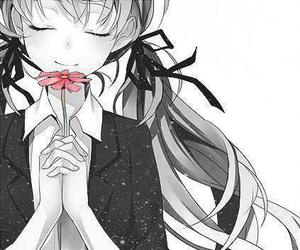 anime, flowers, and manga image