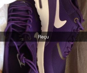 baskets, chaussures, and violet image