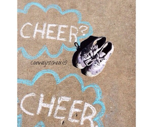 cheer, all star cheerleading, and cheer bow image