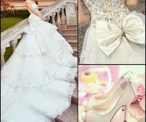 vestido de novia and tacones hermosos image