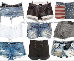 shorts and fashion image
