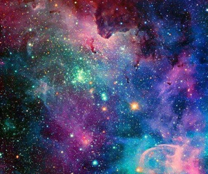 galaxy, stars, and wallpaper image
