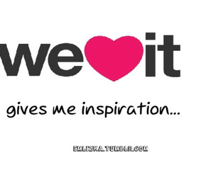 weheartit, heart, and inspiration image