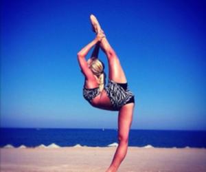 cheer, cheerleader, and flex image