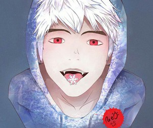 jack frost, red, and red eyes image