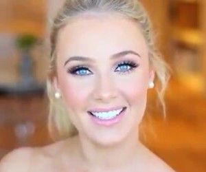 make up, pretty, and lauren curtis image