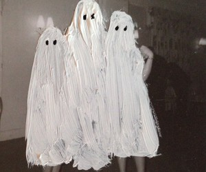 ghost, grunge, and art image