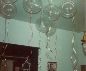 balloons, grunge, and vintage image