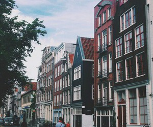 amsterdam, streets, and travel image