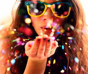 blow, colourful, and fun image
