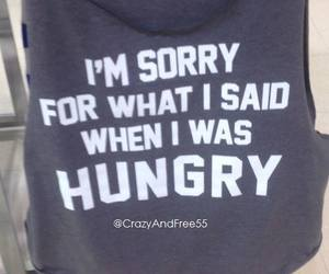 girls, hungry, and lol image