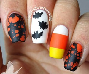 Halloween, trickortreat, and halloween nails image