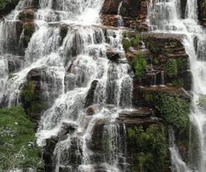 brazil, goias, and almecegas waterfall image
